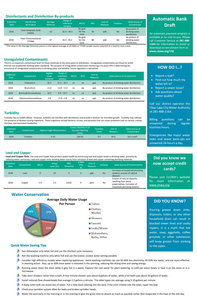 WCID #156 Annual Consumer Confidence Report - Page 3