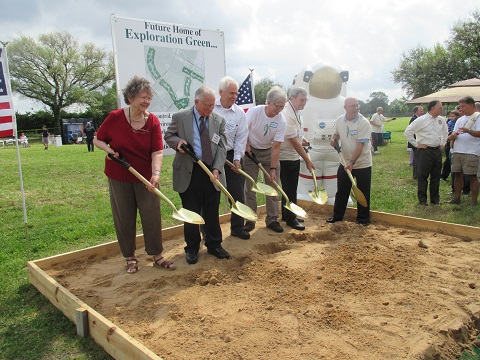 Exploration Green Groundbreaking Ceremony - April 14, 2014